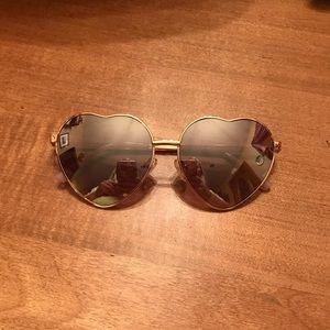 Guess Heart Sunglasses